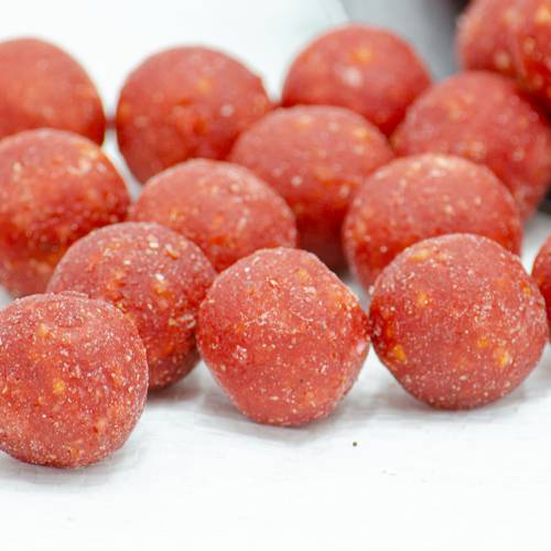 Boilies Fragola 20mm